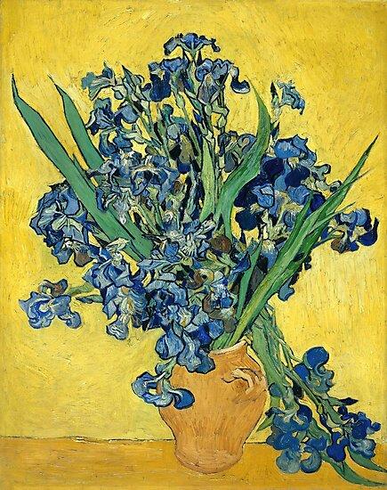 Vincent van Gogh - Irises, 1890  by fineearth
