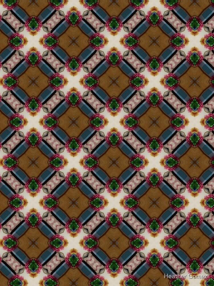 Autumn squares by Heather Gomez