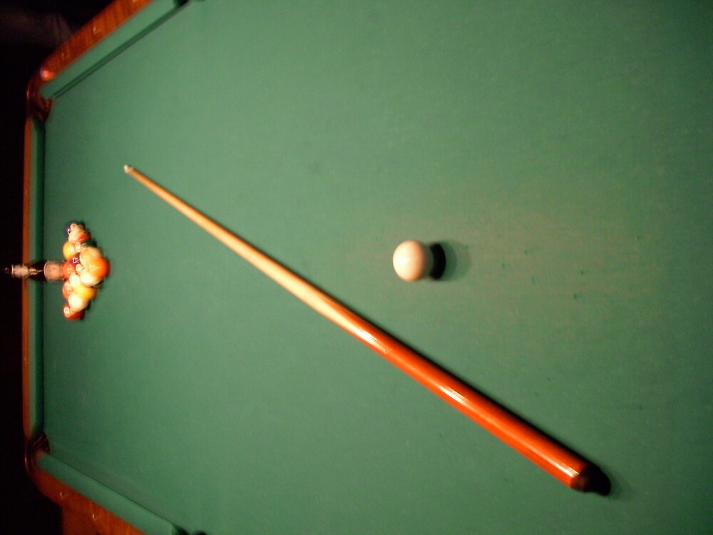 pool hall memories by Jeremy Green