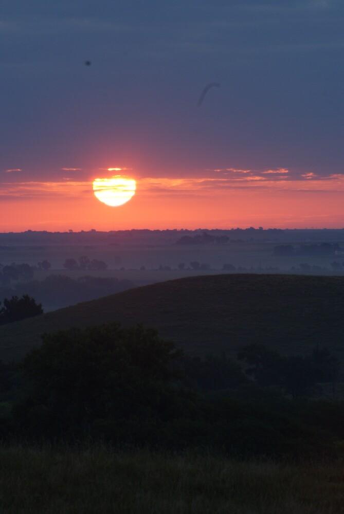 nebraska sunrise by matthewspix