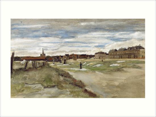 Bleaching Ground at Scheveningen by Vincent van Gogh by fineearth