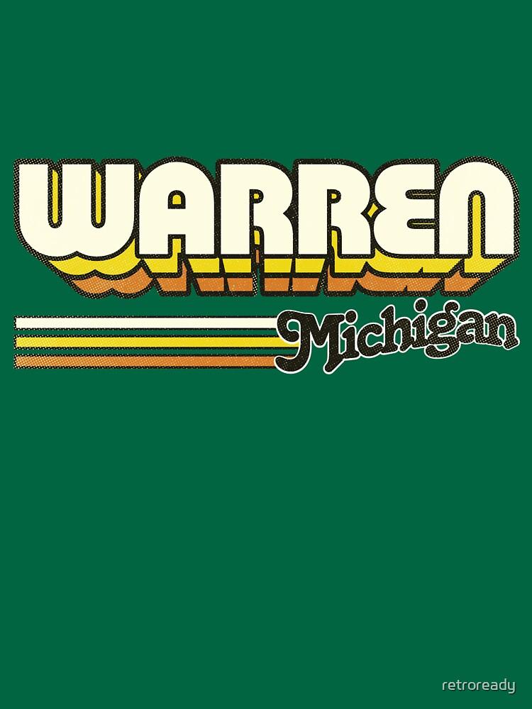 Warren, MI | City Stripes by retroready