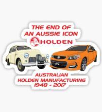 The End Of An Aussie Icon - VF Orange Sticker