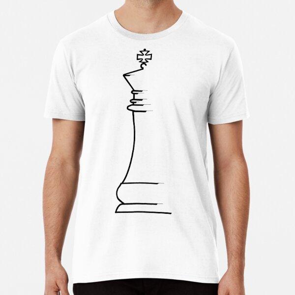 King Chess Piece Premium T-Shirt