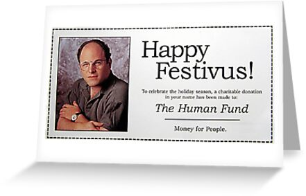Happy festivus greeting cards by laurel shada redbubble happy festivus m4hsunfo