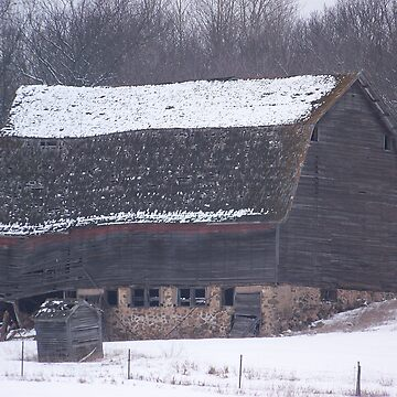 Abandoned Barn by Muse