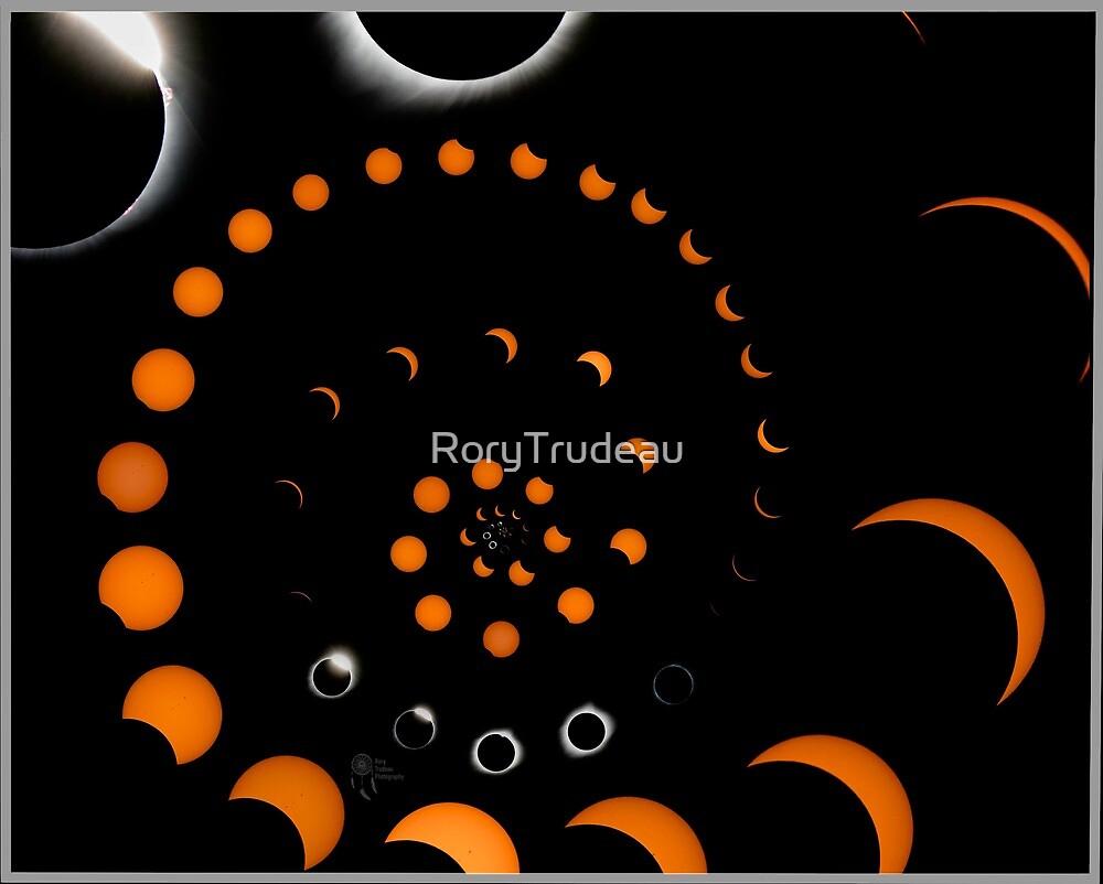Solar eclipse spiral  by RoryTrudeau