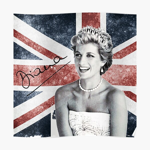 Lady Di 5  Diana Spencer Princess of Wales Poster British Royal Family Picture