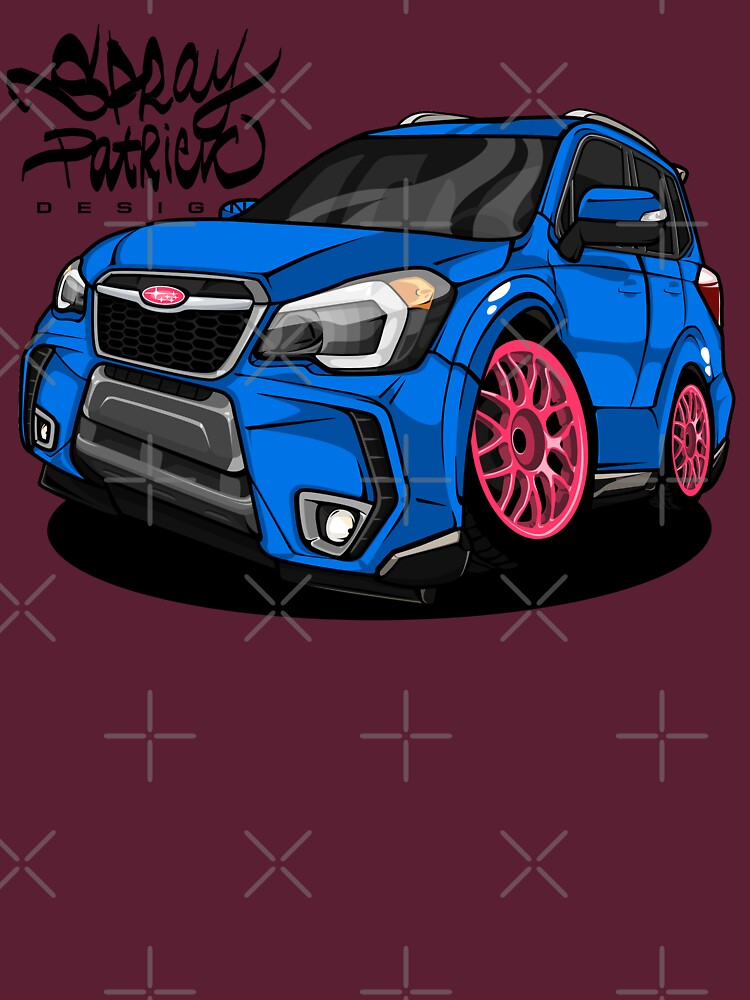 Subaru Forester SJ XT STI by SprayPatrick