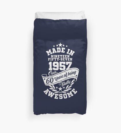 Made in 1957 - über 60 Jahre absolut fantastisch Bettbezug