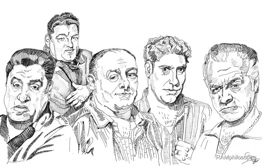 The Sopranos  by RAMphilosophy
