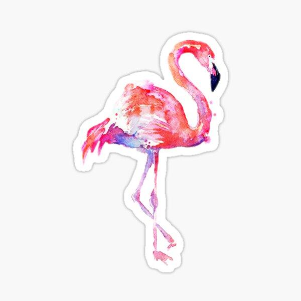 Flamingo Stickers Redbubble