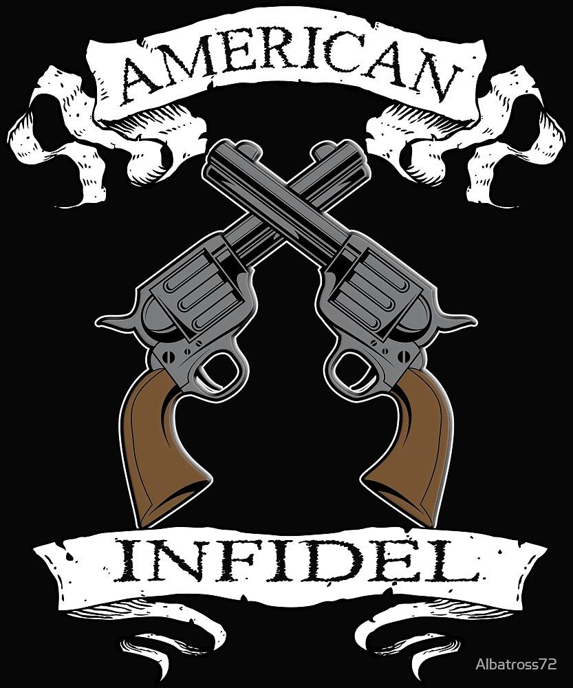 American Infidel Crossed Pistols by Albatross72