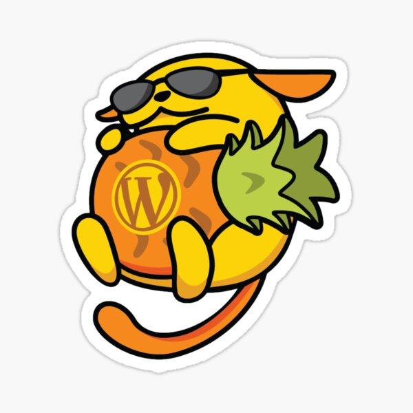 Wapuu WordPress Mascot for Charleston, South Carolina Sticker