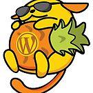Wapuu WordPress Mascot for Charleston, South Carolina by carnellm