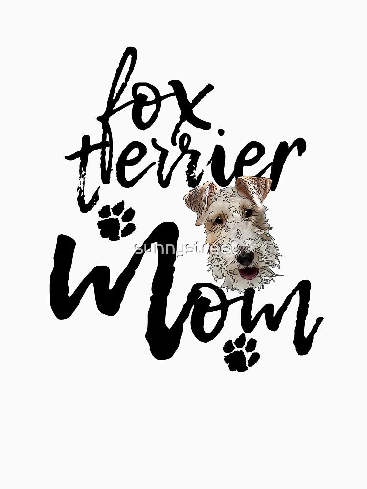 Dog Breed Fox Terrier Mom by SunnyStreet