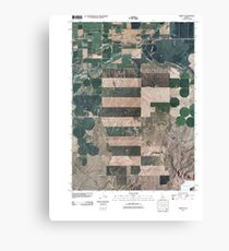 USGS TOPO Map Idaho ID Rigby SE 20101117 TM Canvas Print