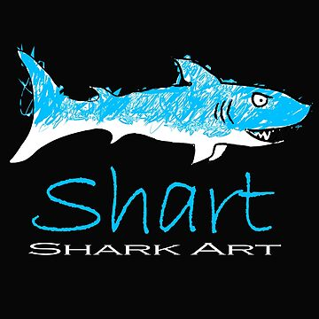 Shart Shark Art Drawing by Albatross72