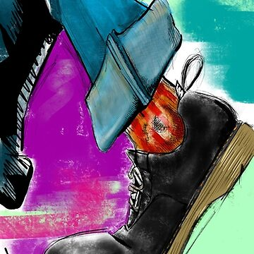 Dr martens sketched by Luislemos
