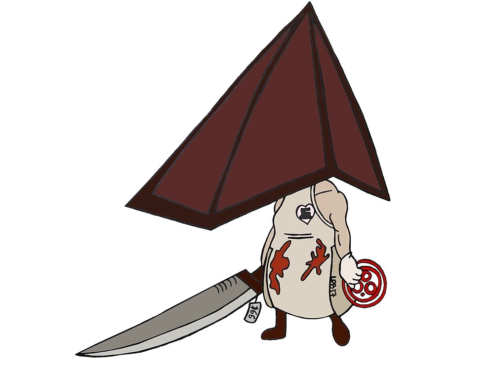 Chibi Pyramid Head - Silent Hill by EnoWesker