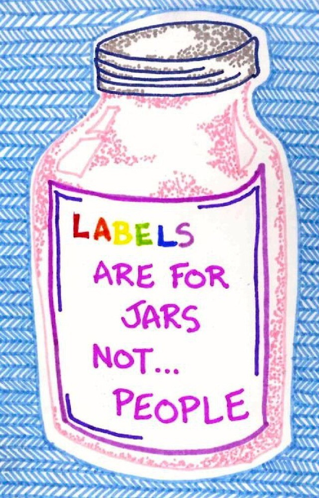 Labels are for jars by Rlittle