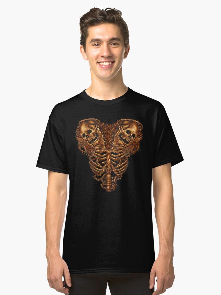 Bones Chest Classic T-Shirt Front