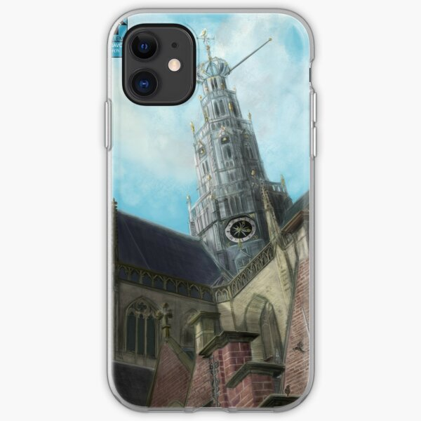 LookUp - Haarlem- Sint Bavo Church iPhone Soft Case