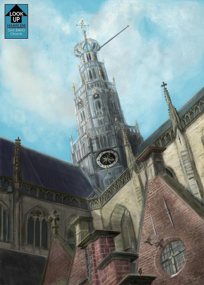 LookUp - Haarlem- Sint Bavo Church by Stayf