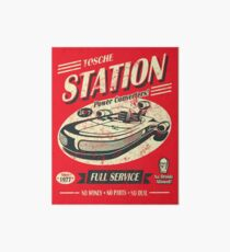 Tosche Station Galeriedruck