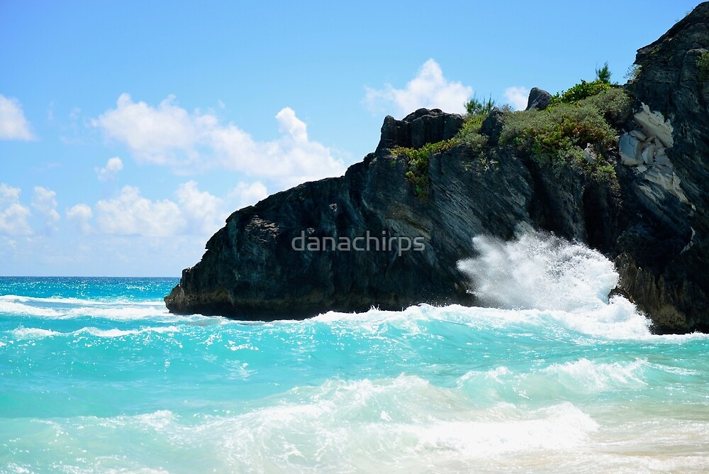 Big Rock Splash Near Horseshoe Bay by danachirps