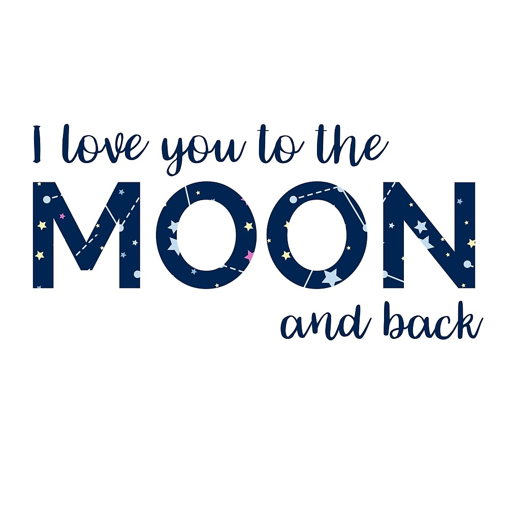 Love You to the Moon by Adele Mawhinney