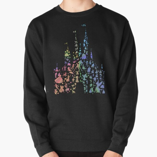 Happiest Castle On Earth (Rainbow Explosion) Pullover Sweatshirt