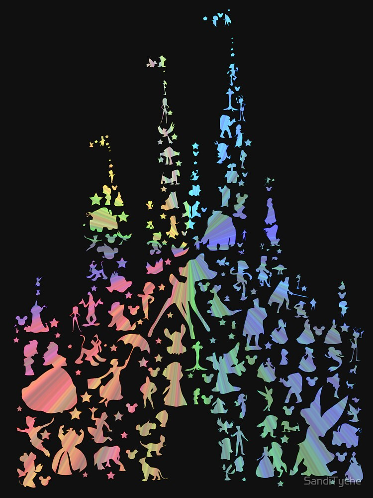 Happiest Castle On Earth (Rainbow Explosion) by SandiTyche