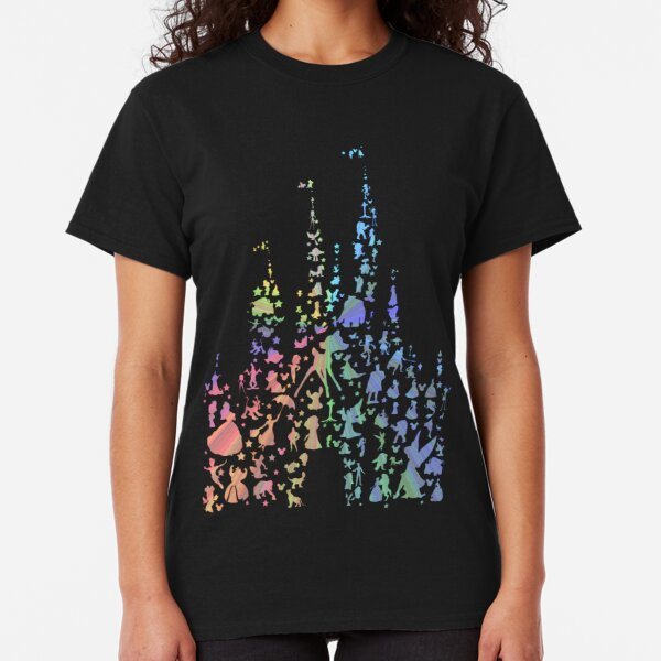 Happiest Castle On Earth (Rainbow Explosion) Classic T-Shirt