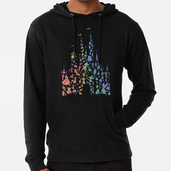 Happiest Castle On Earth (Rainbow Explosion) Lightweight Hoodie