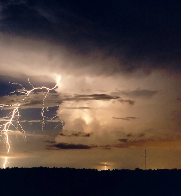 Darwin Lightning by Michael Bath
