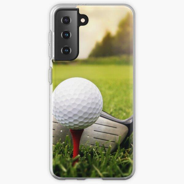Golf Club and Ball Golfing Design Samsung Galaxy Soft Case