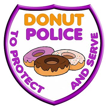 Donut Police To Protect and Serve by Albatross72