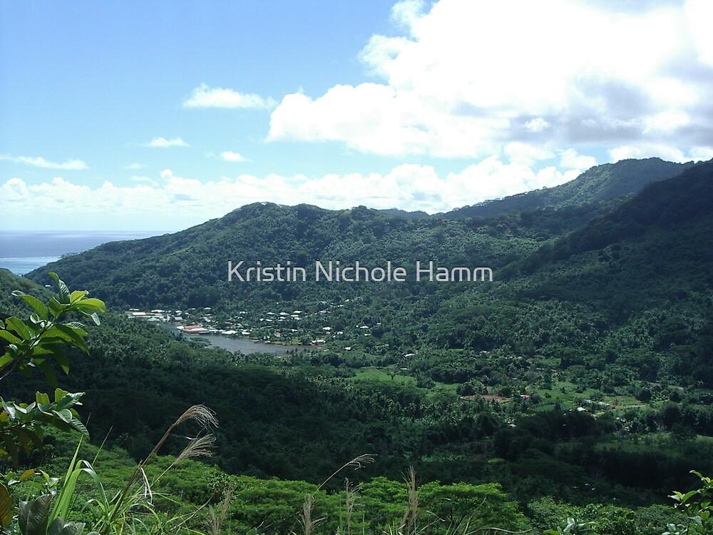 Tahiti Scenery #1 by Kristin Hamm