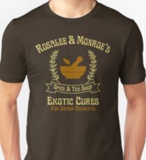 Rosalee & Monroe's Exotic Spice & Tea Shop Unisex T-Shirt
