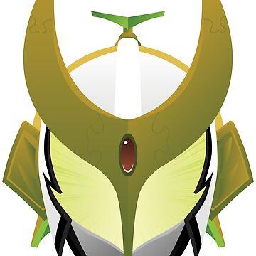 Kamen Rider Zangetsu by AzzyFox