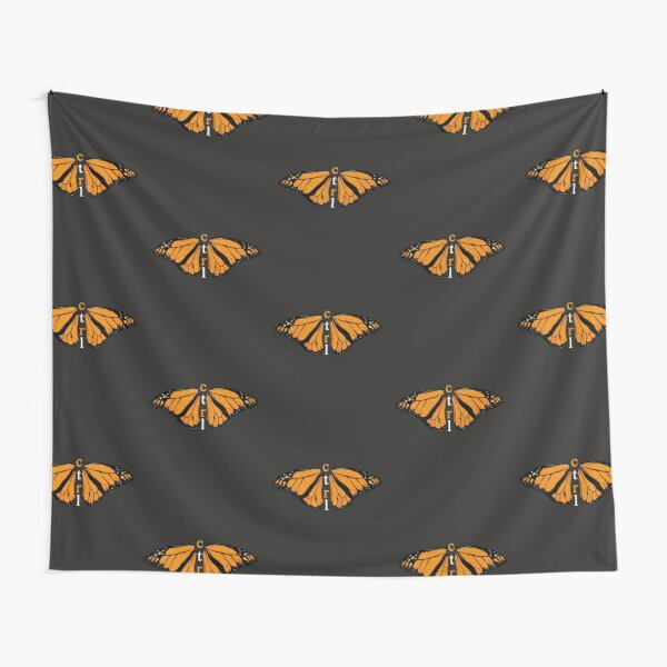 CTRL BUTTERFLY Tapestry