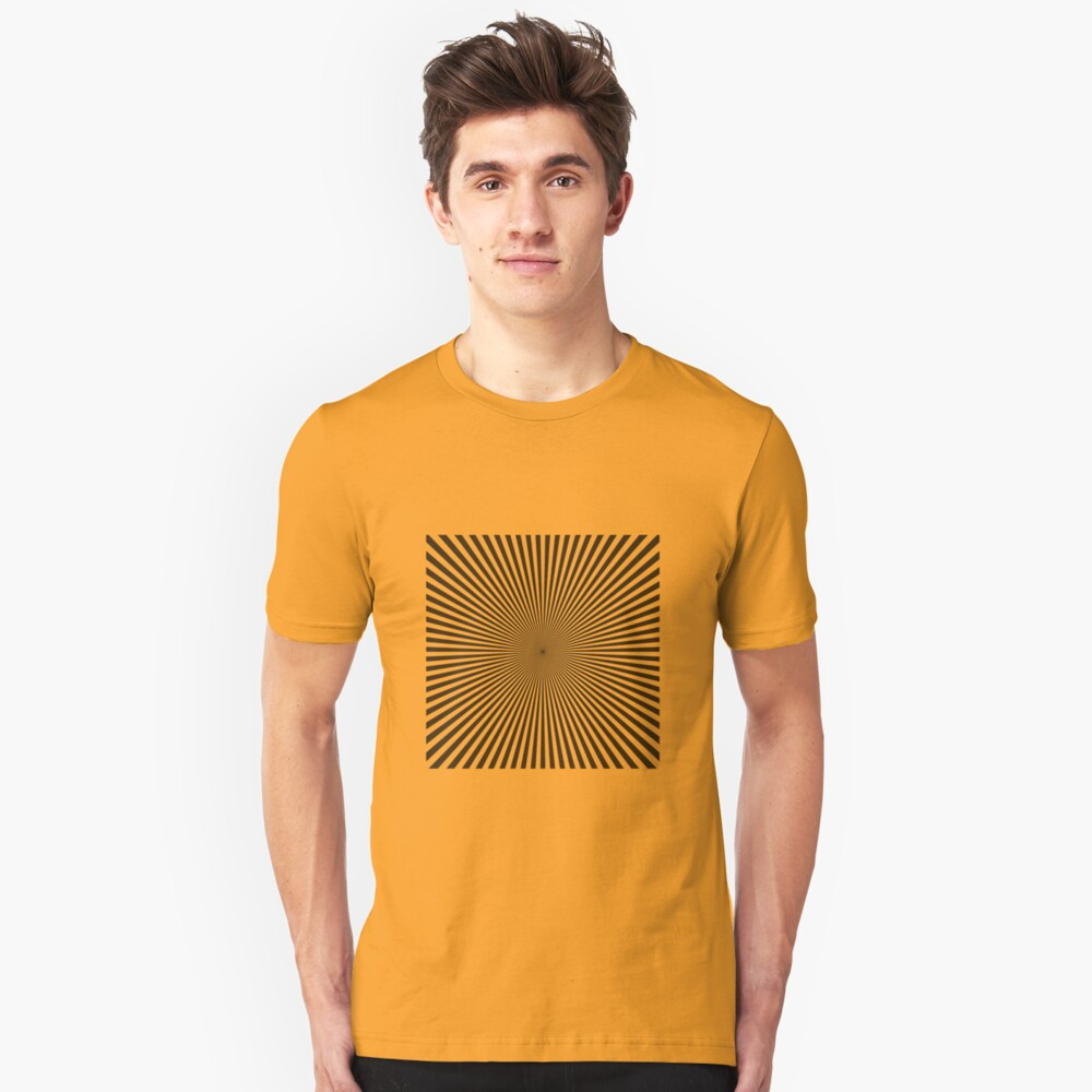 Psychedelic Pattern Unisex T-Shirt Front