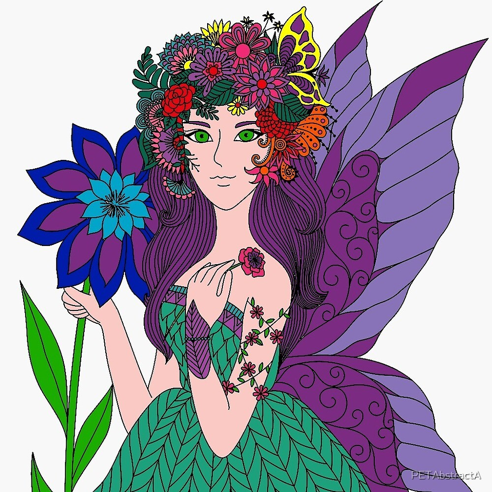 Garden Fairy  by PETAbstractA