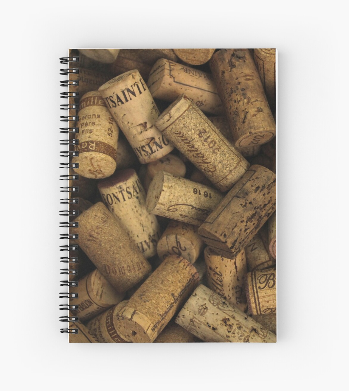 Wine Bottle Corks Background Texture by HotHibiscus
