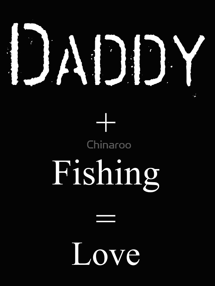 fish gift, dad fishing birthday, holiday daddy tees shirts by Chinaroo