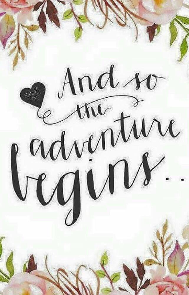 Adventure Begins by Rlittle