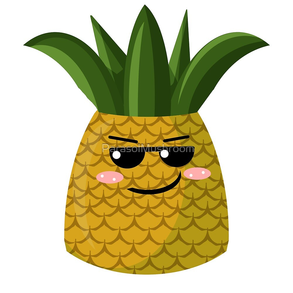 Kewl Pineapple by ParasolMushroom