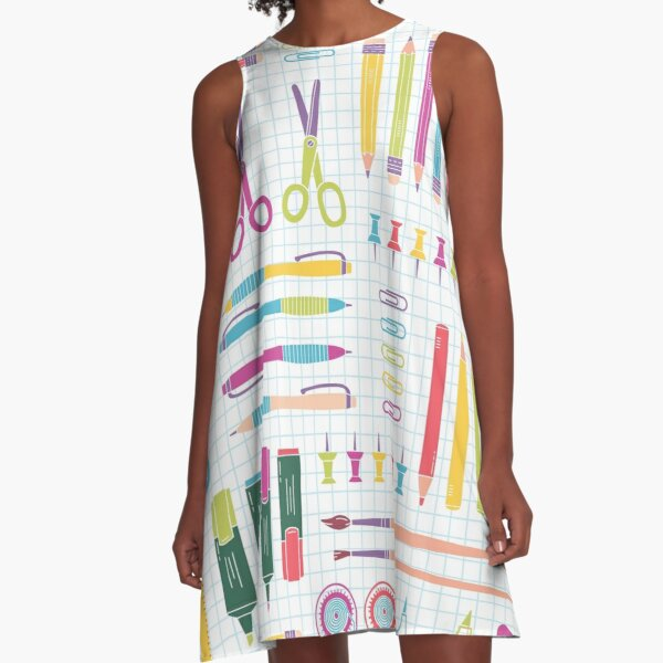 Back To School A-Line Dress