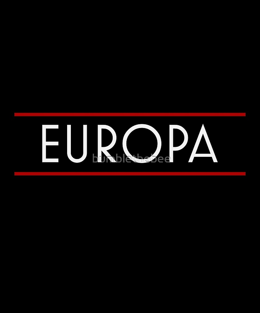 Europa by bumblethebee